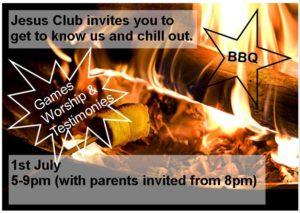 Jesus Club Event - Year 8 upwards !  -  Cancelled  - @ Burcot | England | United Kingdom